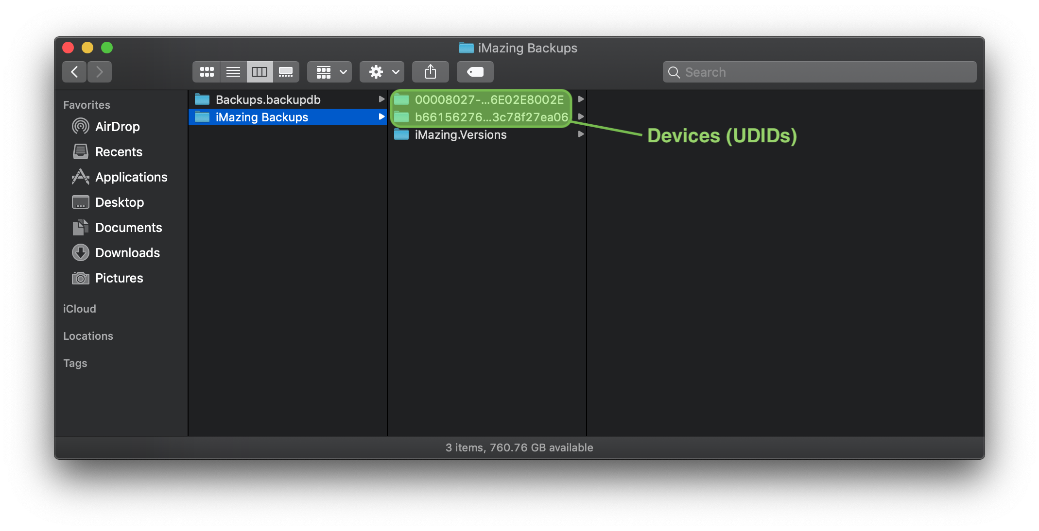Why do iMazing backups appear to be larger than iTunes